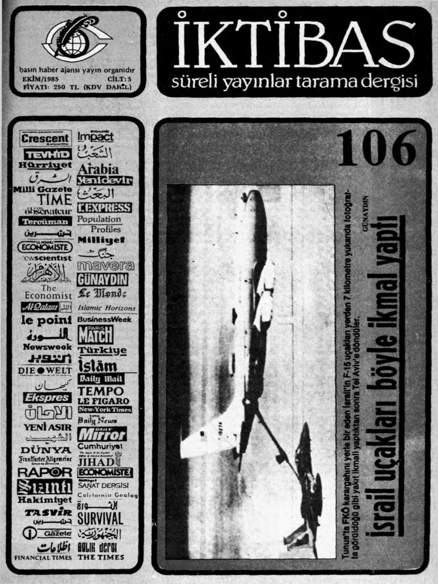 5. Cilt 106. Sayı
