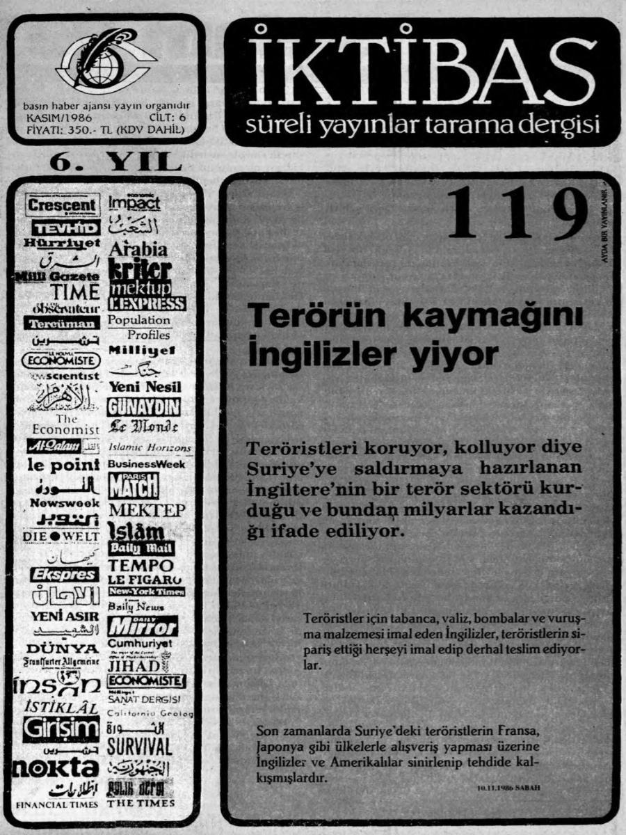 6. Cilt 119. Sayı