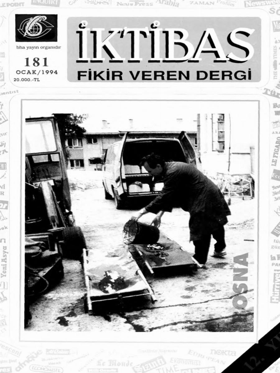 12. Cilt 181. Sayı