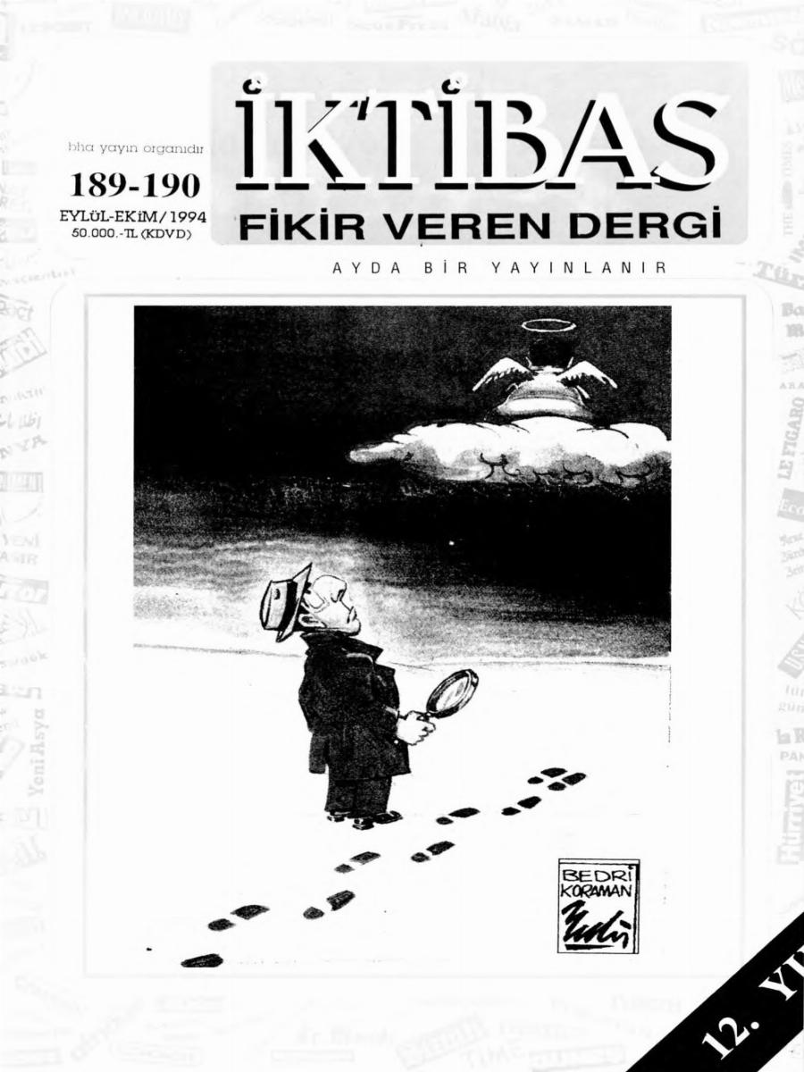 12. Cilt 189-190. Sayı