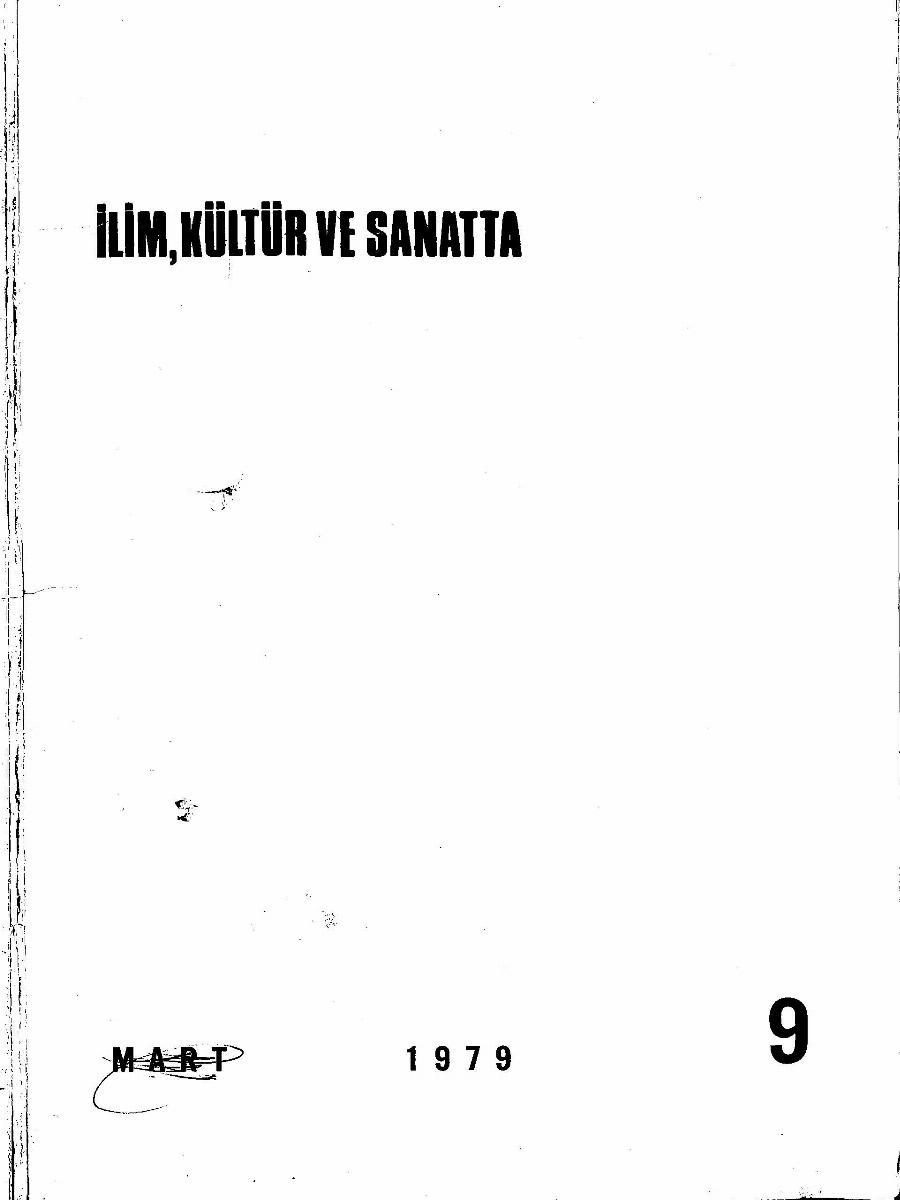4. Cilt 9. Sayı