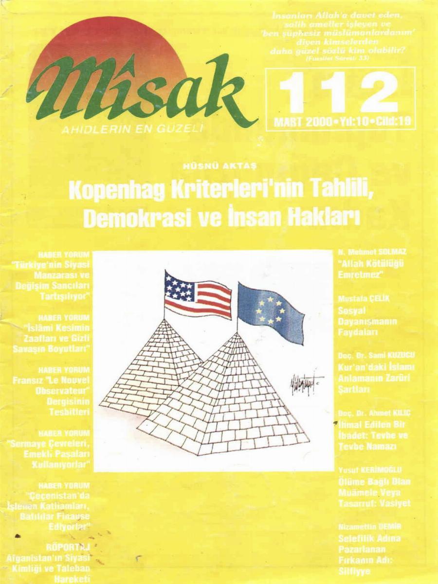 19. Cilt 112. Sayı