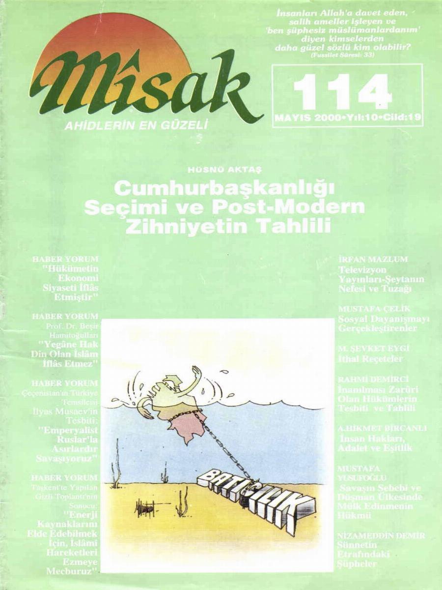 19. Cilt 114. Sayı