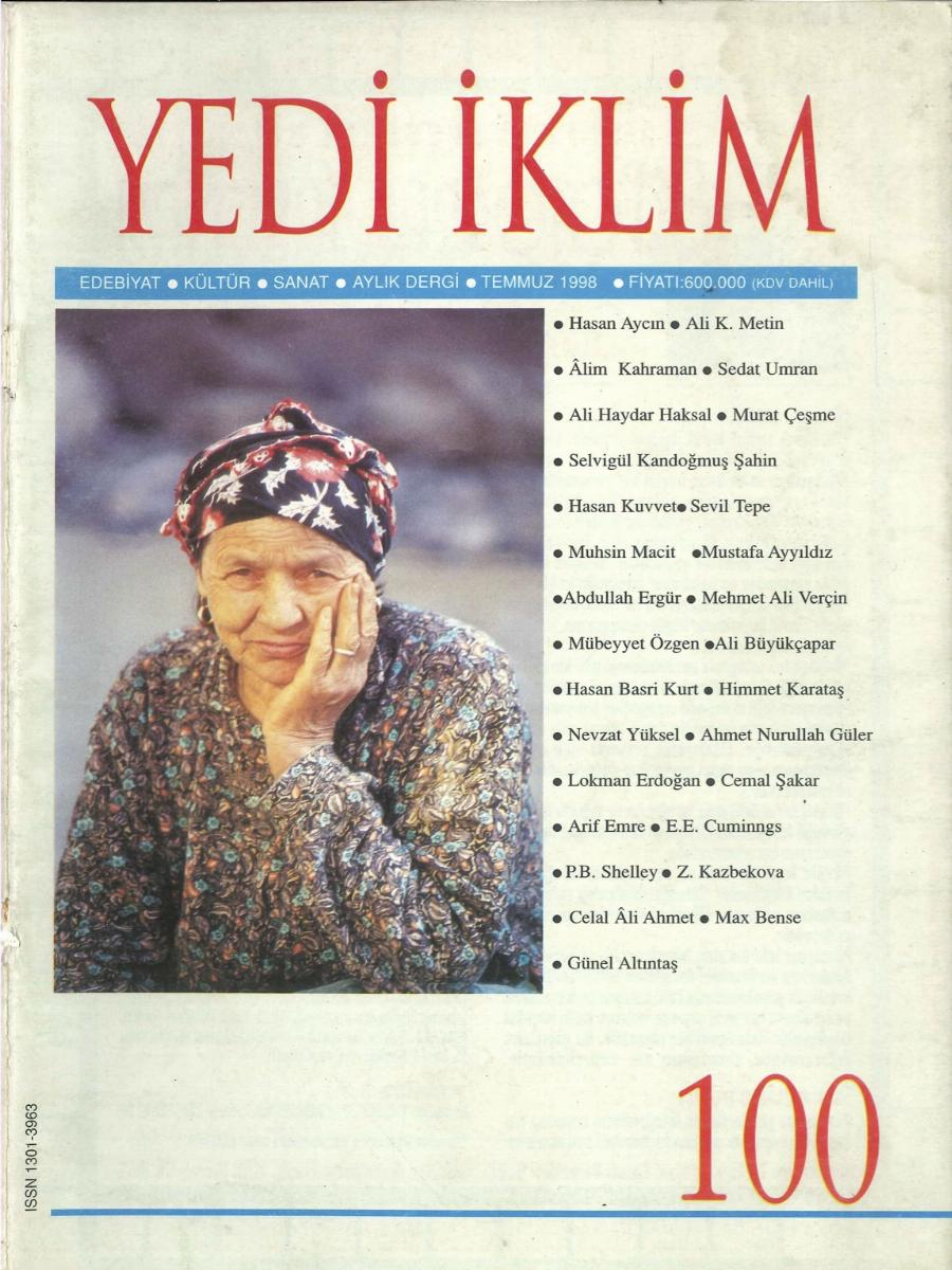 11. Cilt 100. Sayı