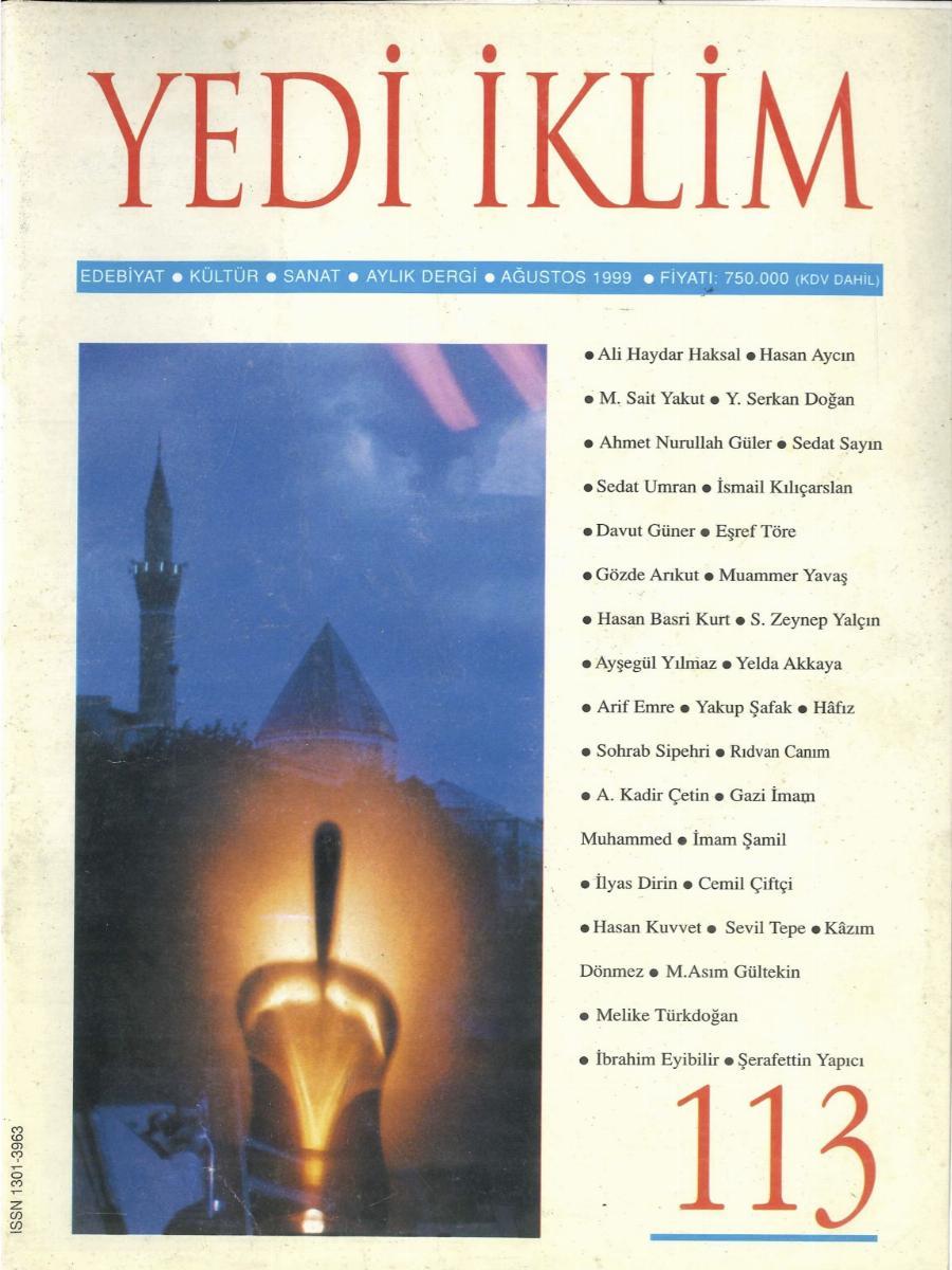 12. Cilt 113. Sayı