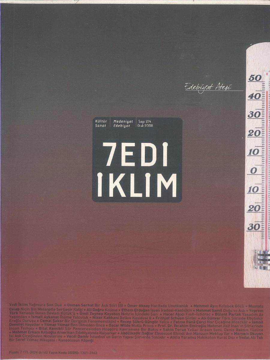 21. Cilt 214. Sayı