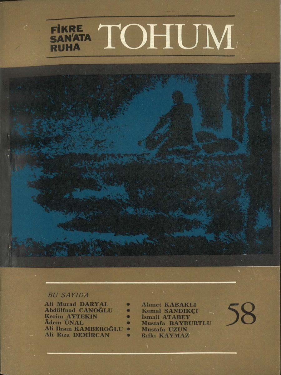 5. Cilt 58. Sayı