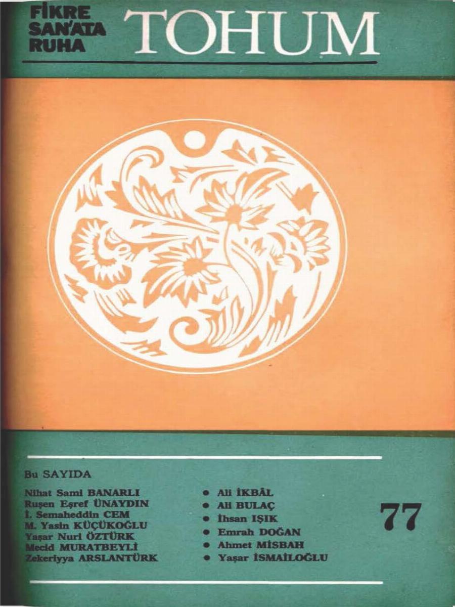 7. Cilt 77. Sayı