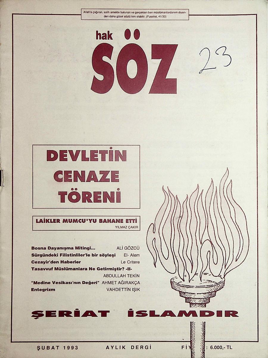 23. Sayı