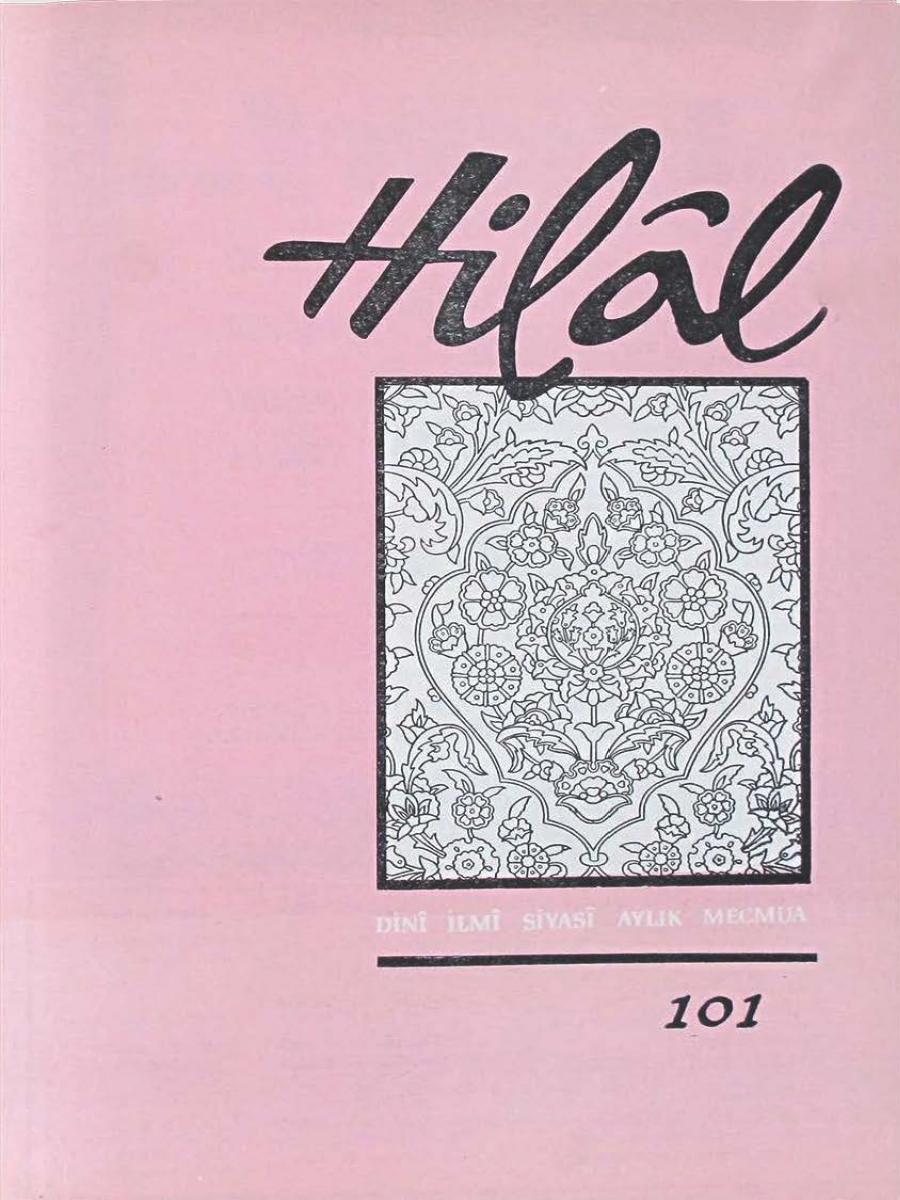 9. Cilt 101. Sayı