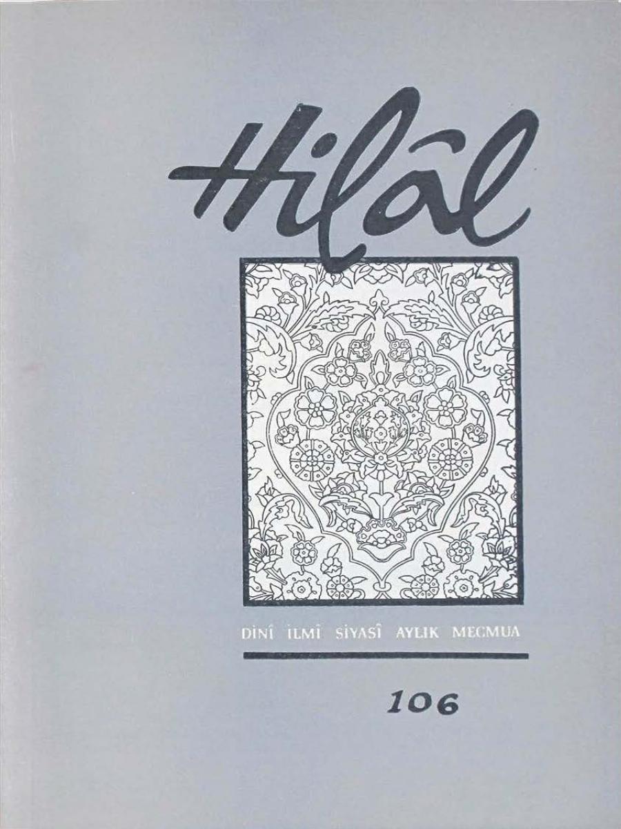 9. Cilt 106. Sayı