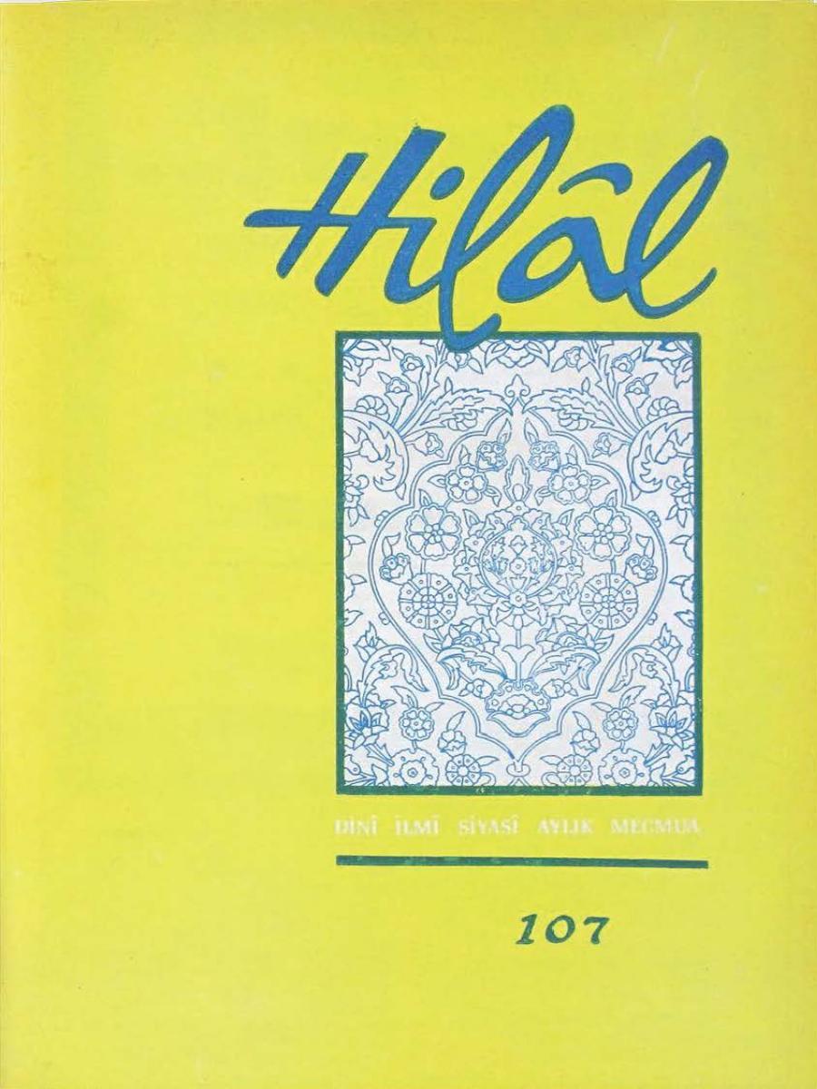 9. Cilt 107. Sayı