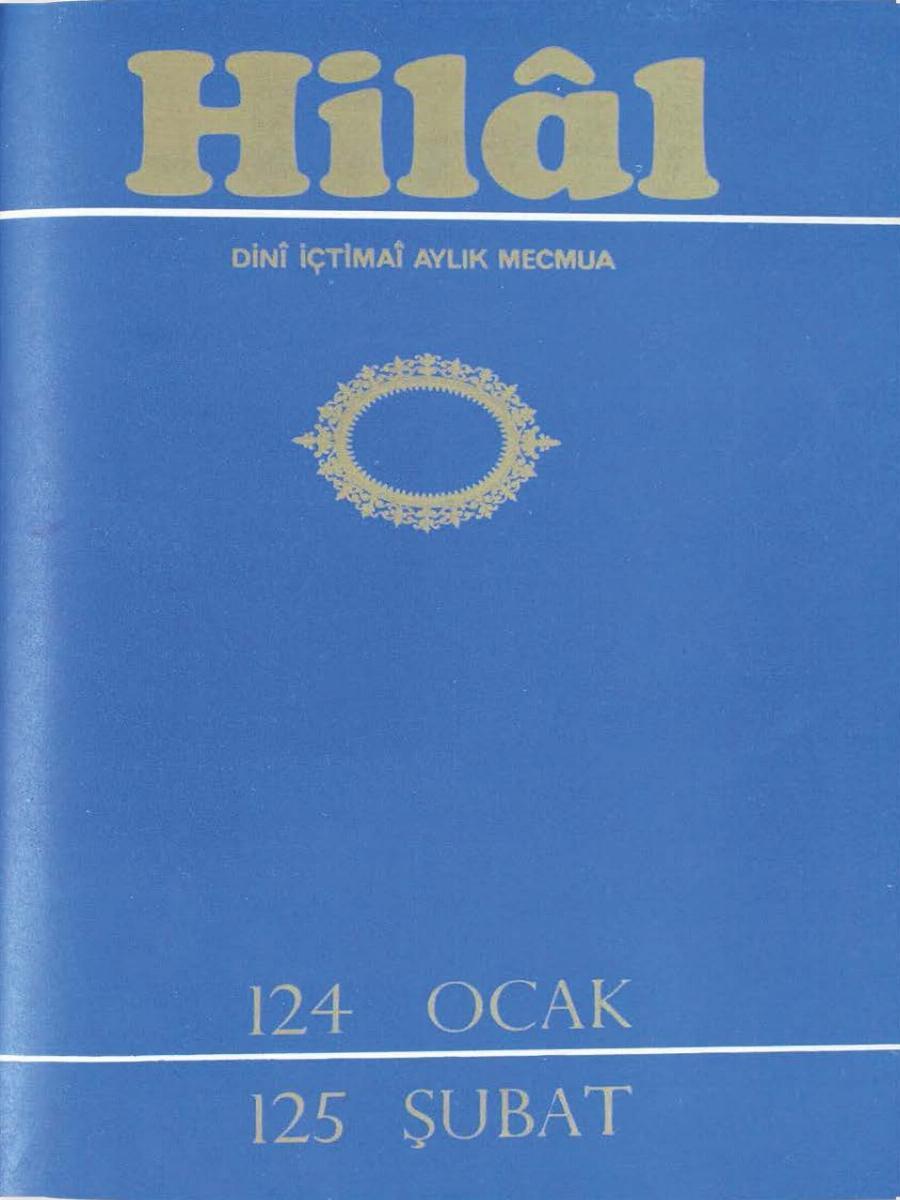 11. Cilt 124-125. Sayı