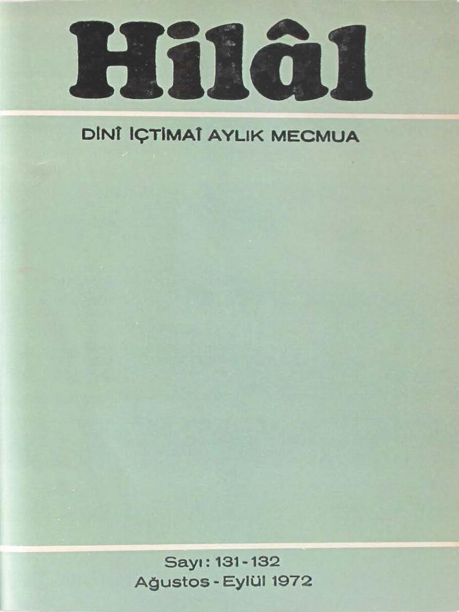 11. Cilt 131-132. Sayı