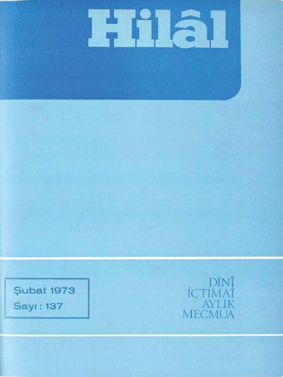 12. Cilt 137. Sayı