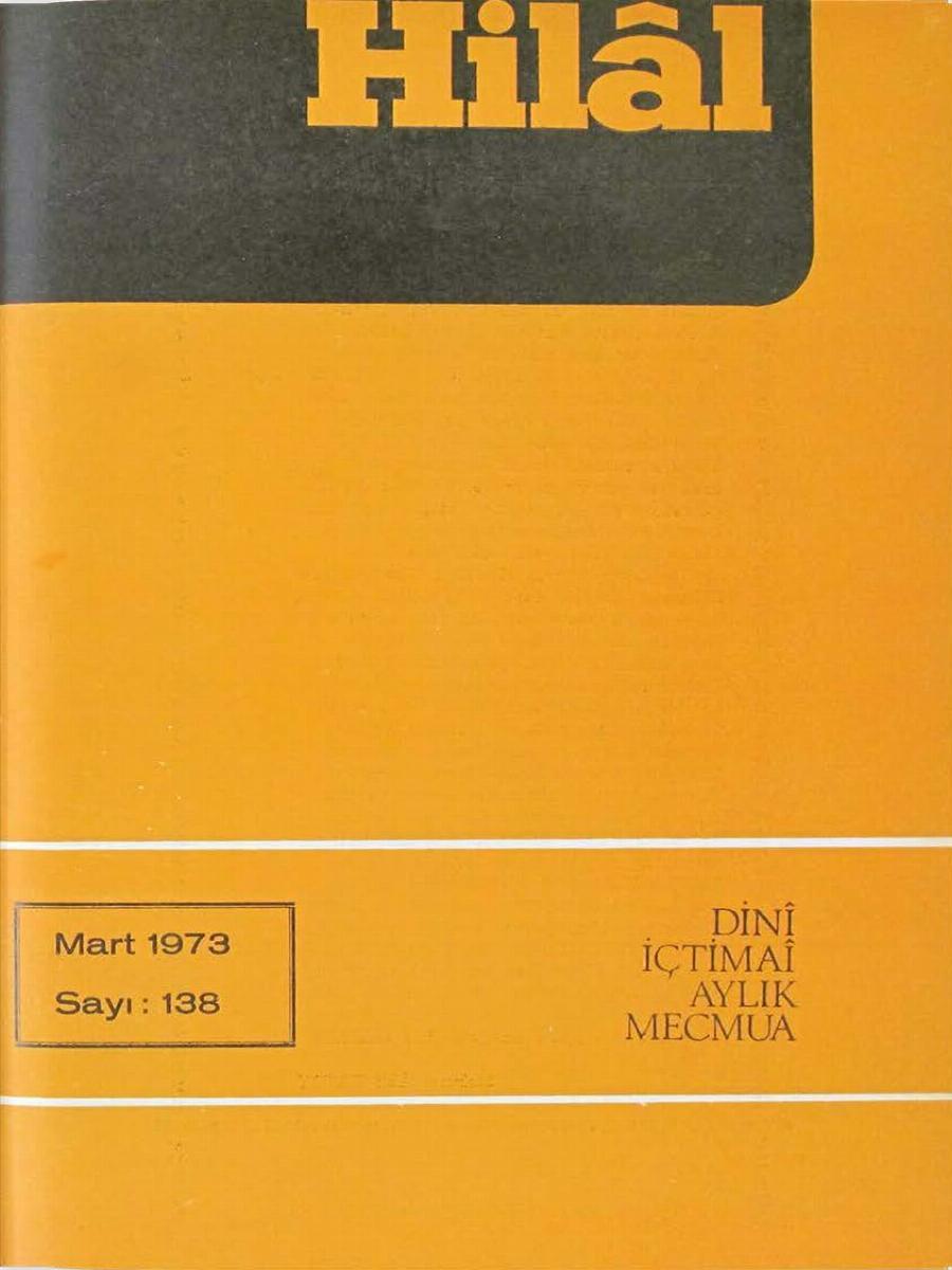 12. Cilt 138. Sayı