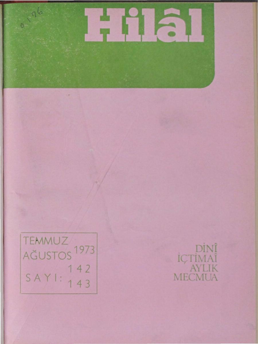 12. Cilt 142-143. Sayı