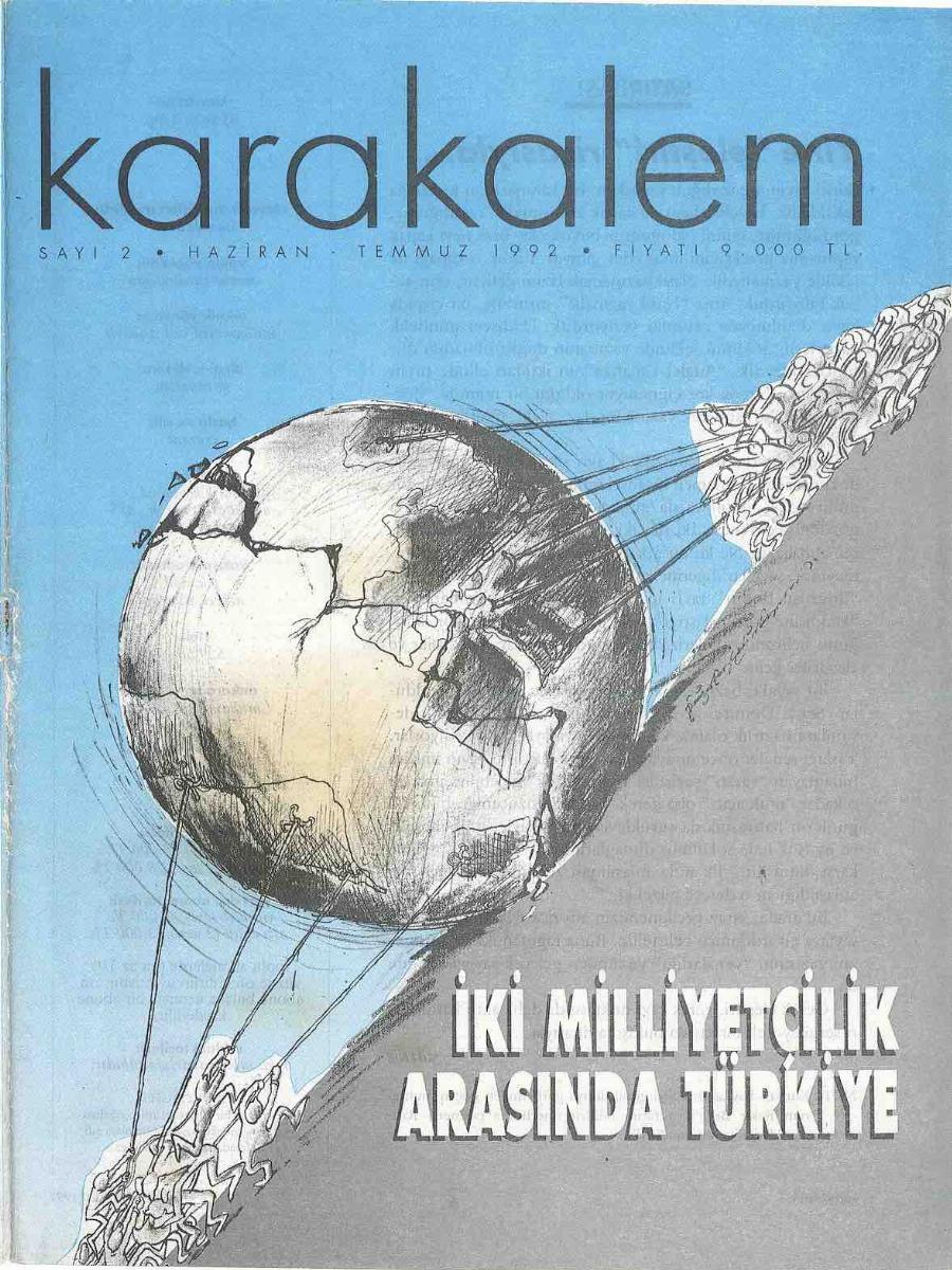 1992. Cilt 2. Sayı