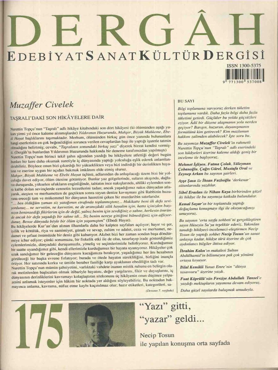 175. Sayı