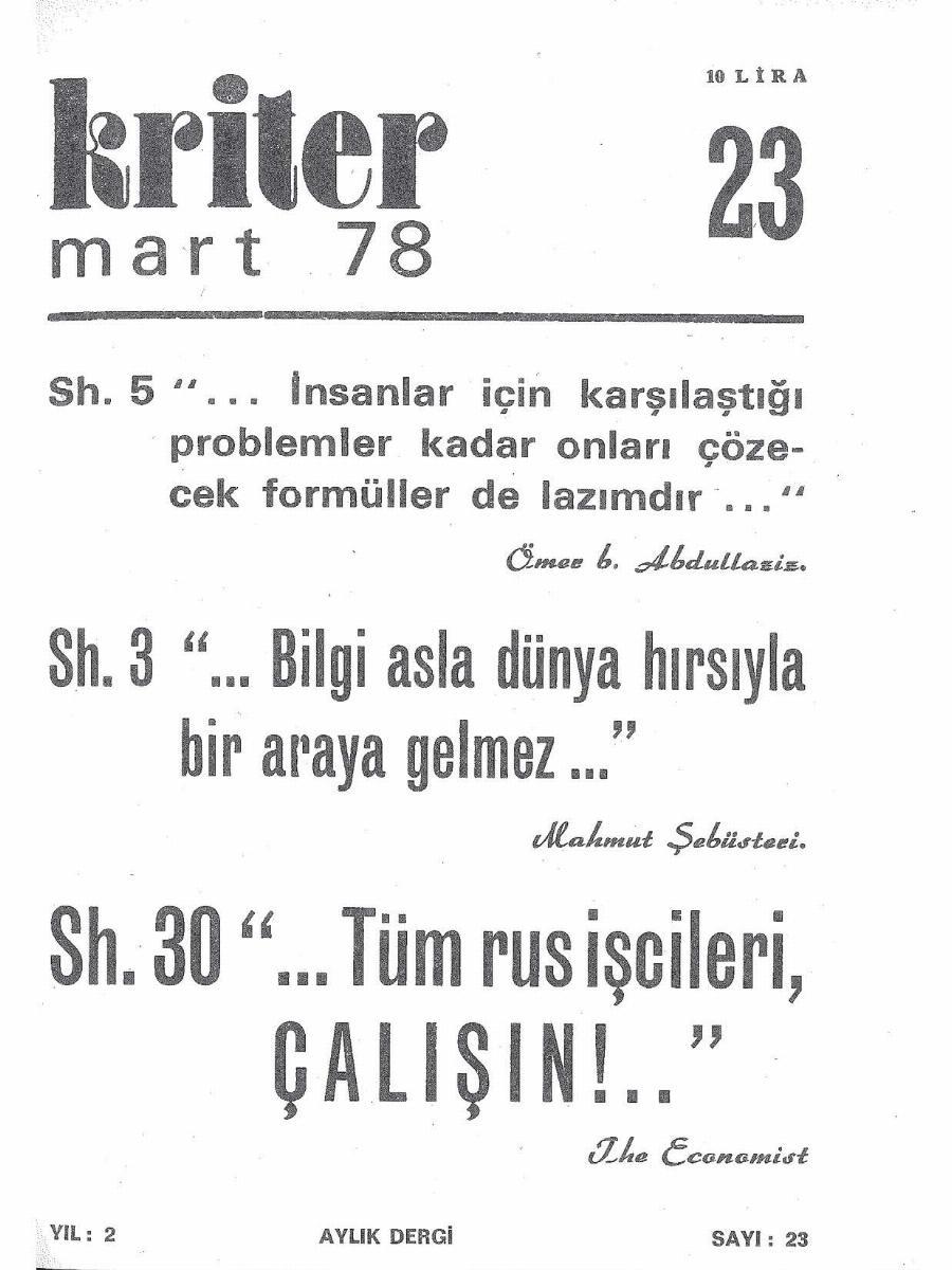2. Cilt 23. Sayı