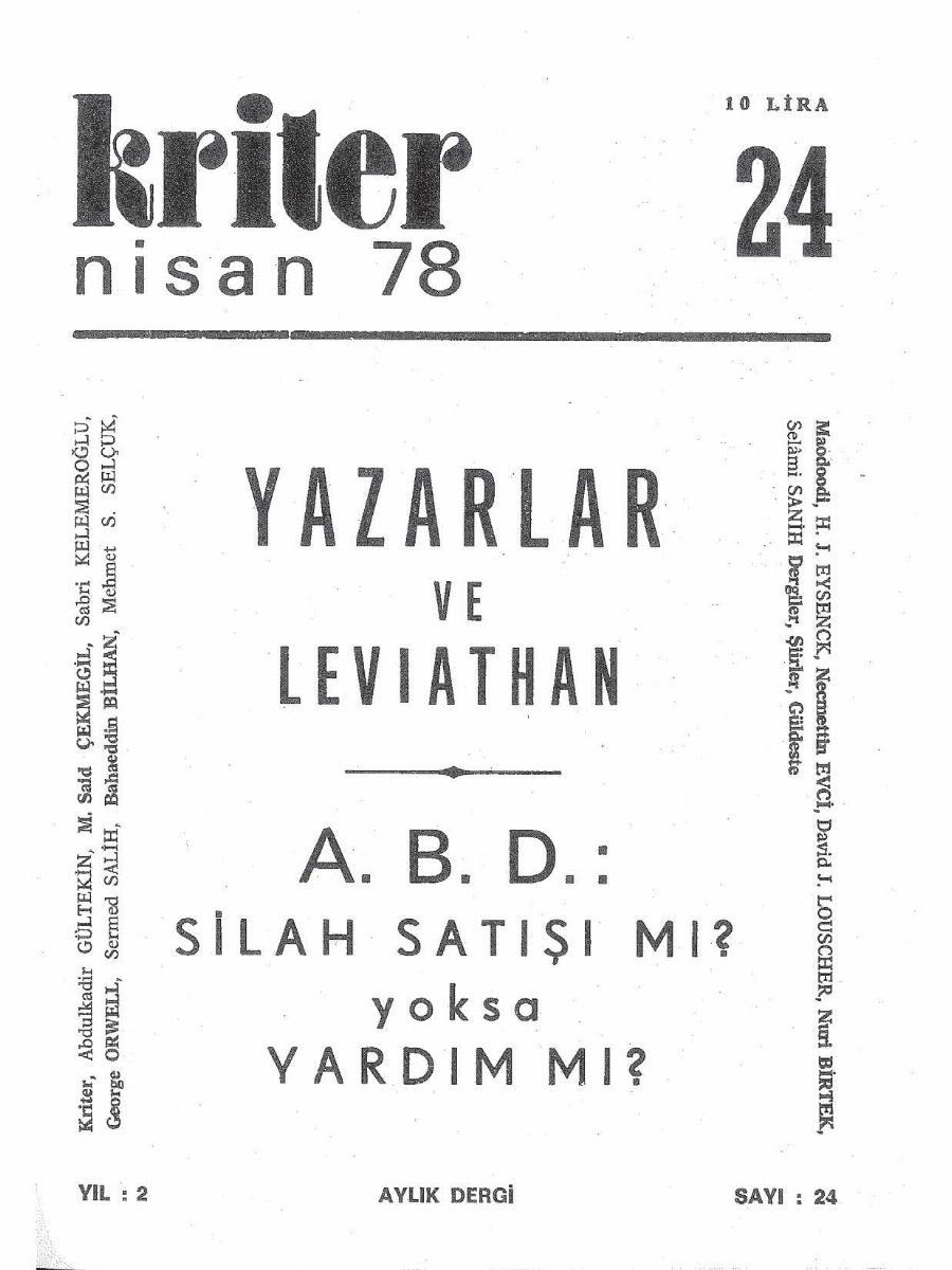 2. Cilt 24. Sayı