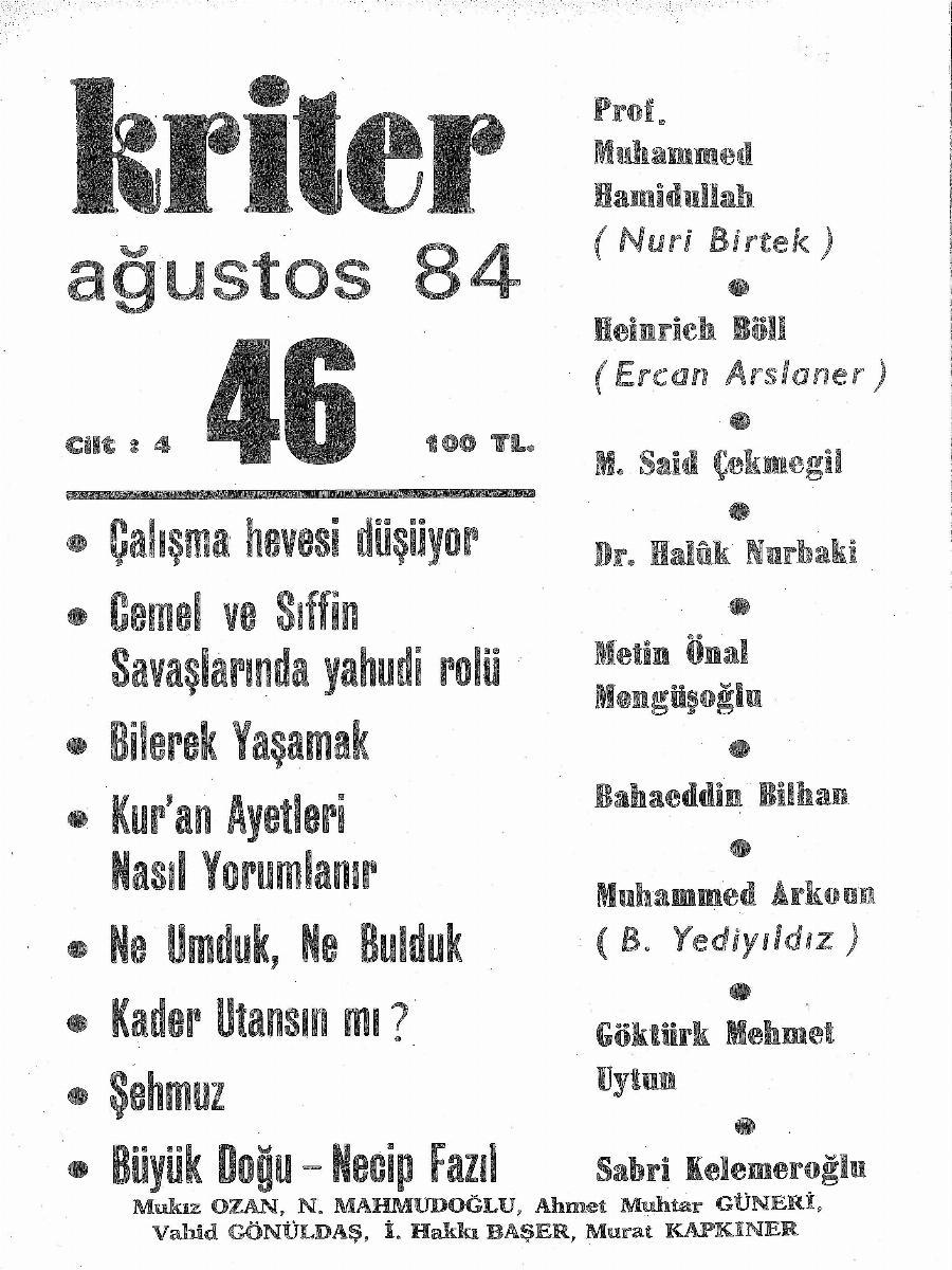 4. Cilt 46. Sayı