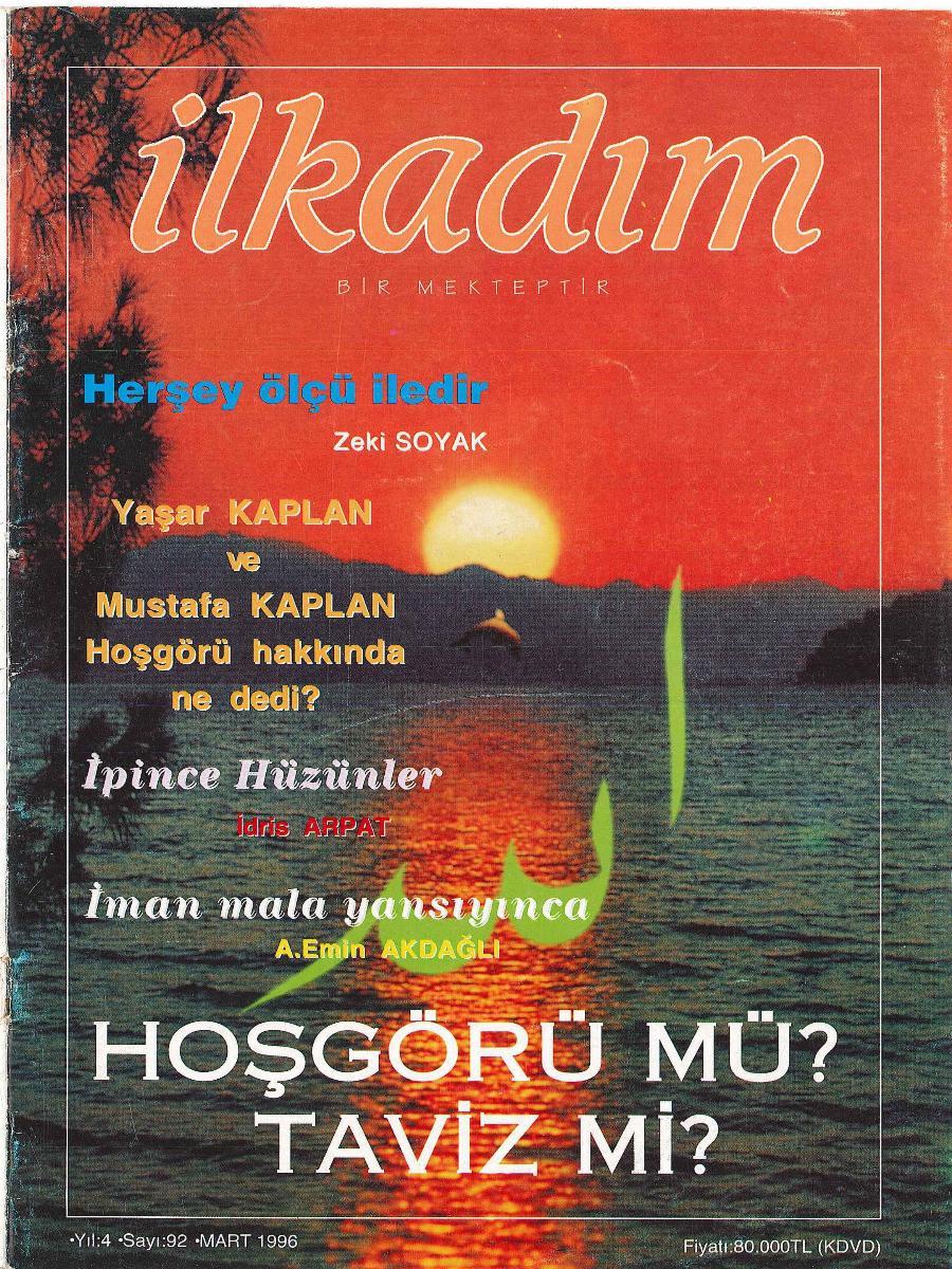 İlkadım Dergisi