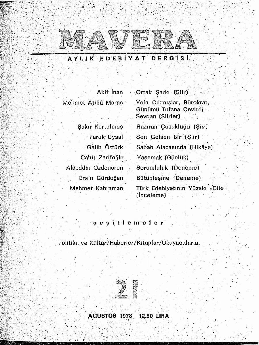 2. Cilt 21. Sayı