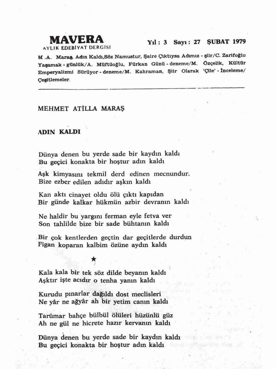 3. Cilt 27. Sayı