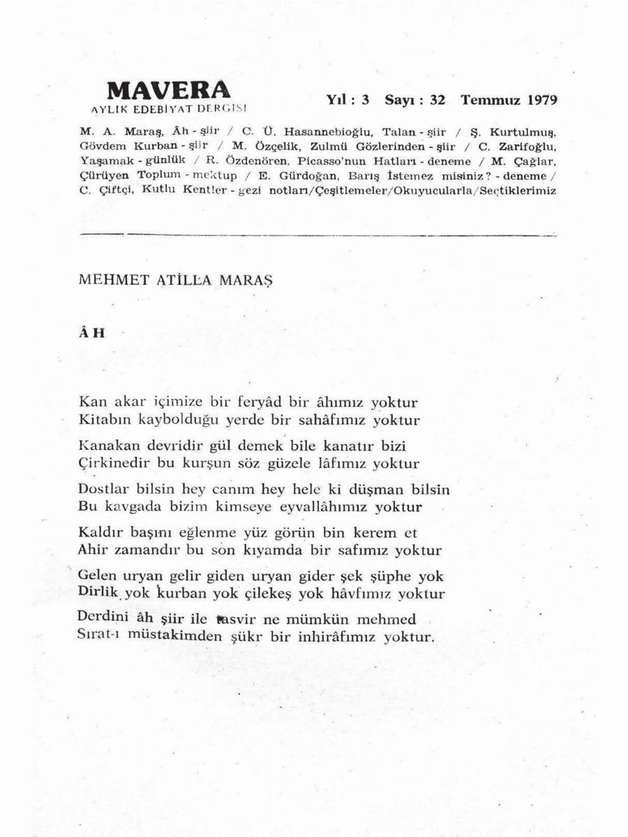 3. Cilt 32. Sayı