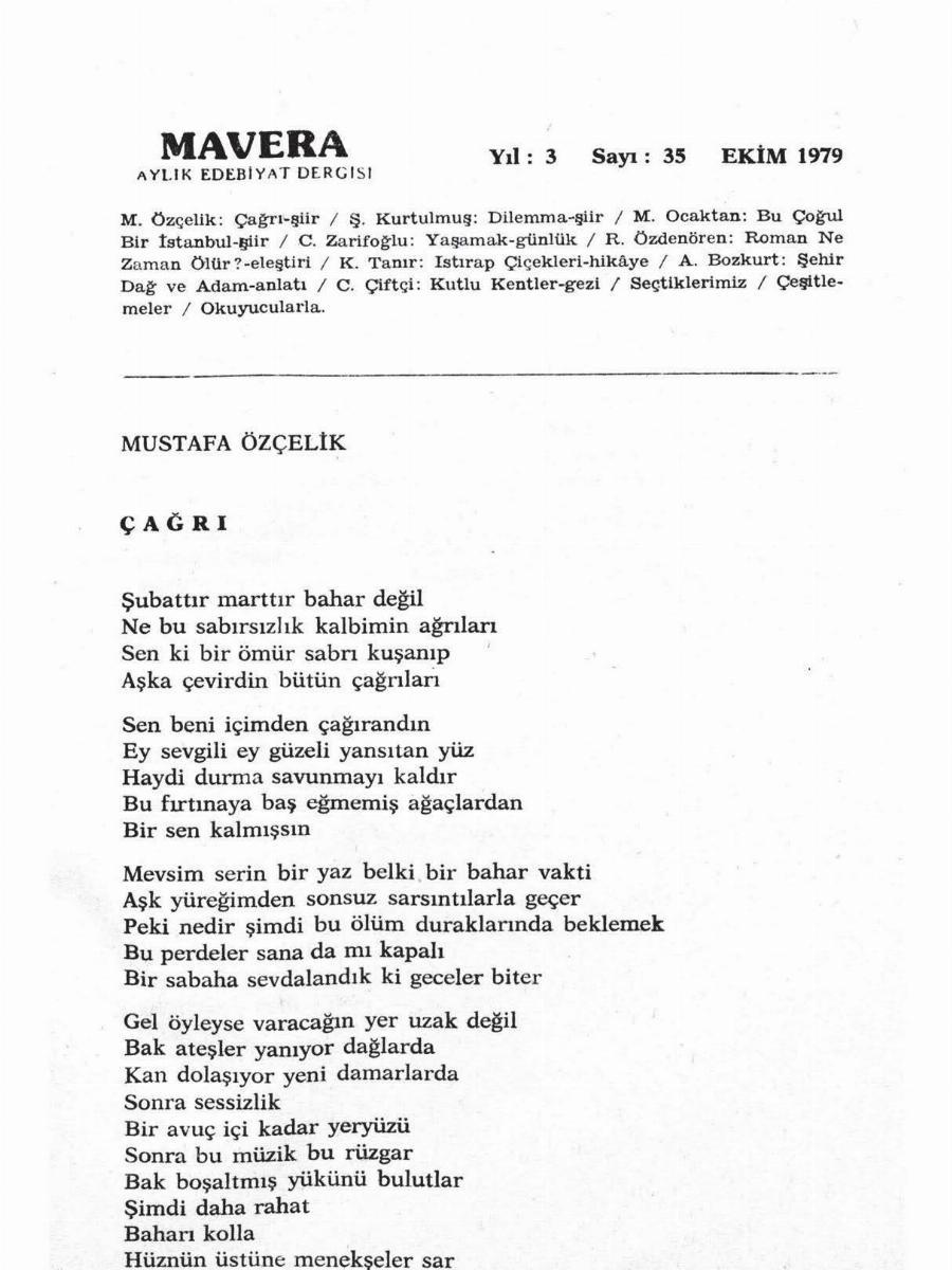 3. Cilt 35. Sayı