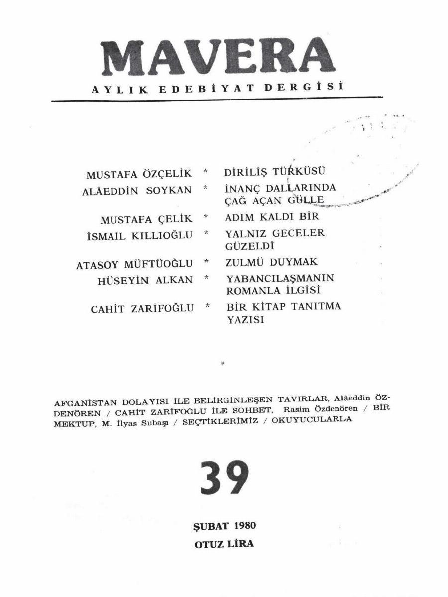4. Cilt 39. Sayı