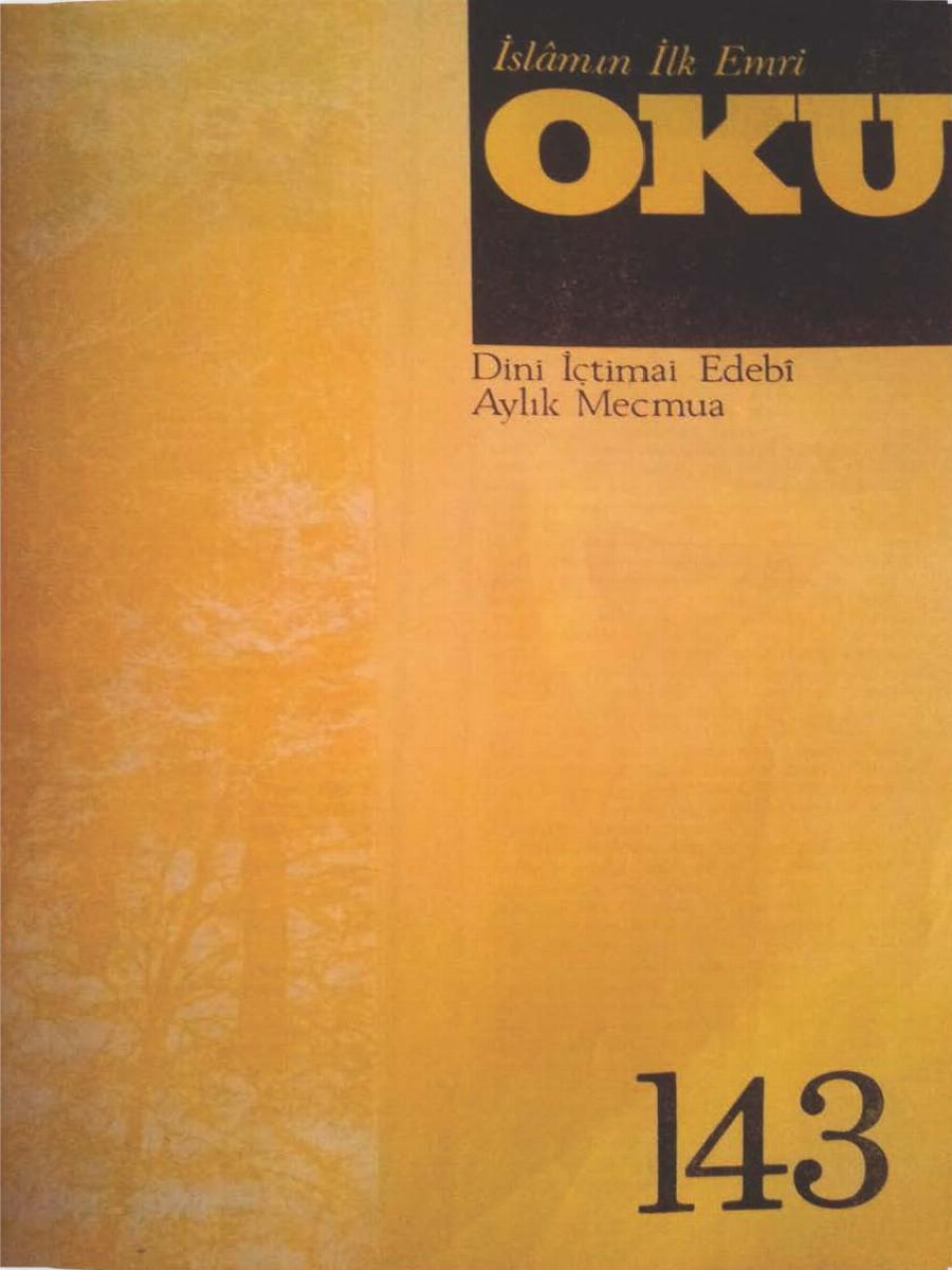 12. Cilt 143. Sayı