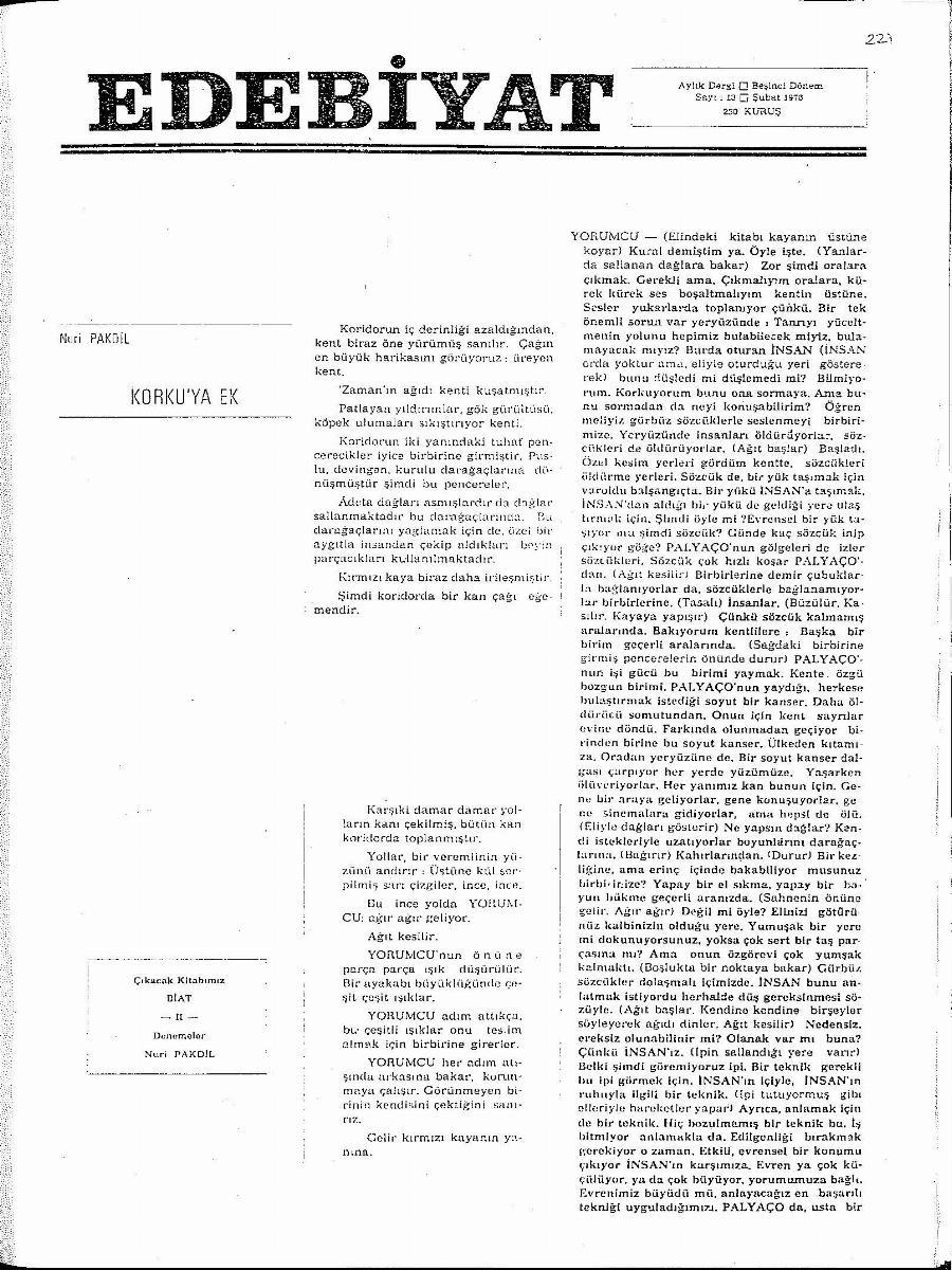 5. Cilt 13. Sayı