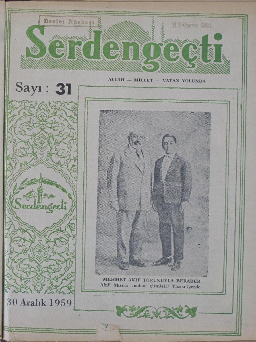 11. Cilt 31. Sayı