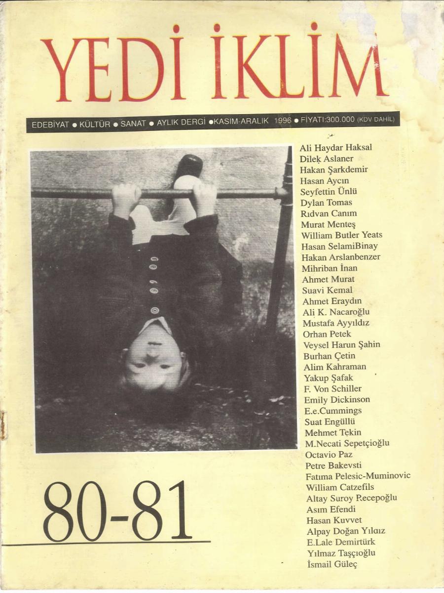 11. Cilt 80-81. Sayı