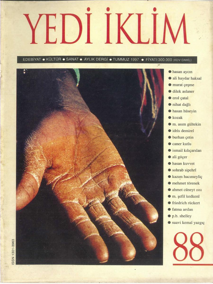 11. Cilt 88. Sayı