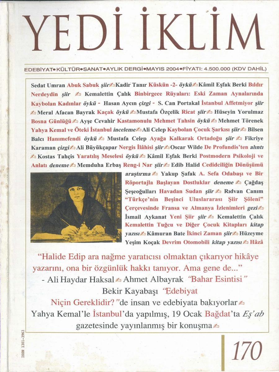 17. Cilt 170. Sayı