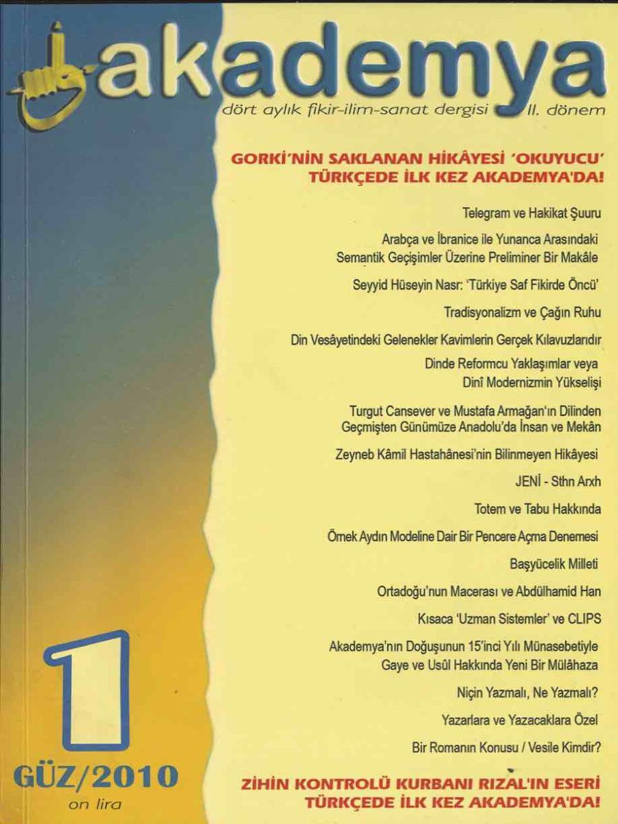 Akademya II. Dönem