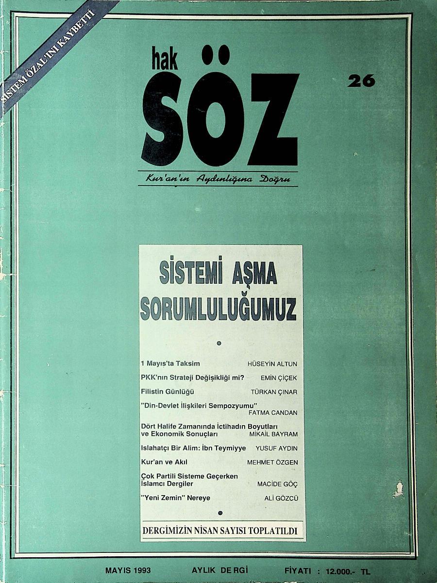 26. Sayı