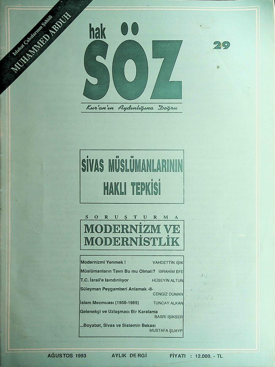 29. Sayı