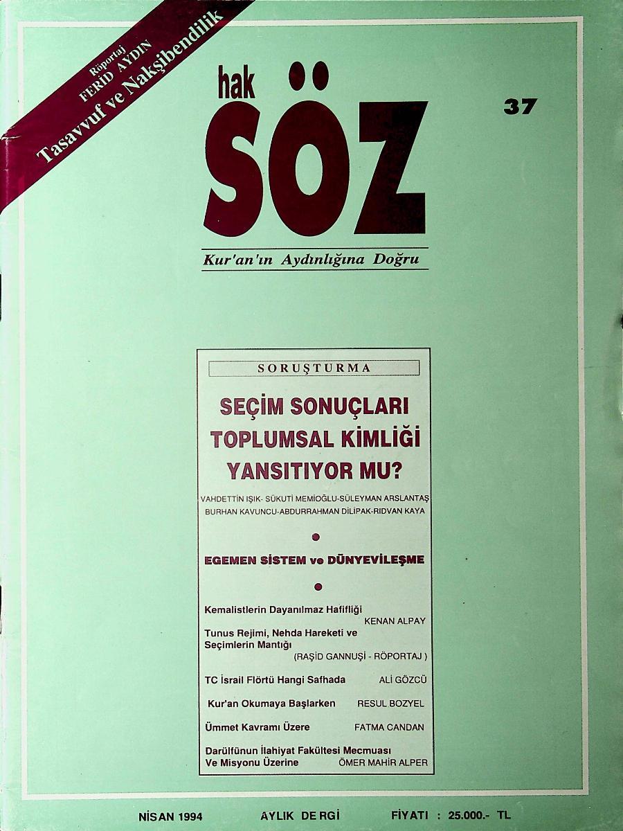 37. Sayı