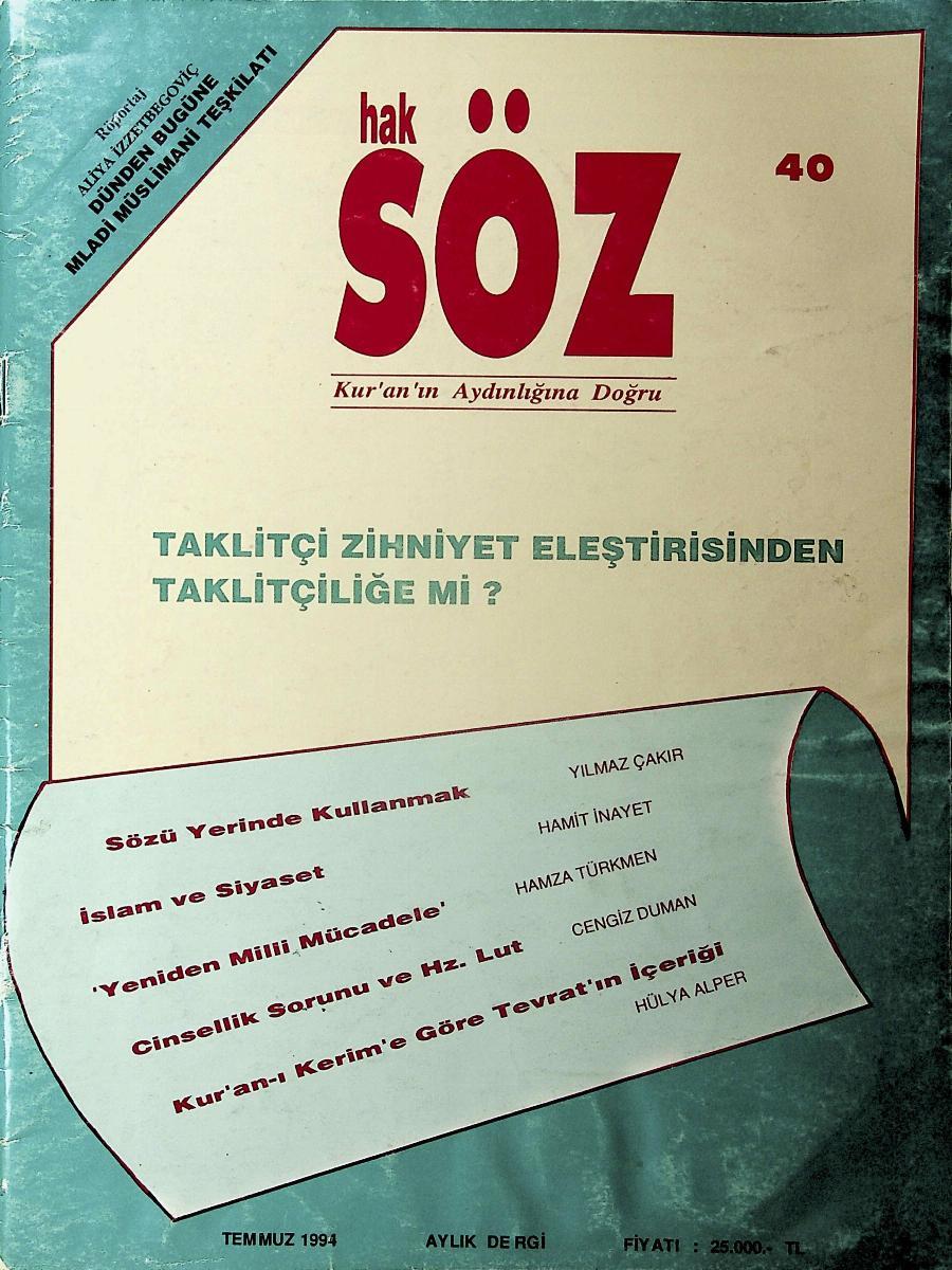 40. Sayı