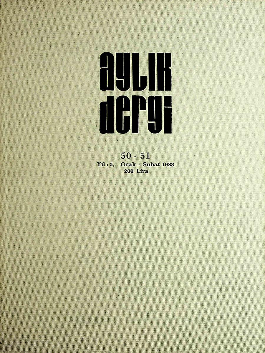 50-51. Sayı
