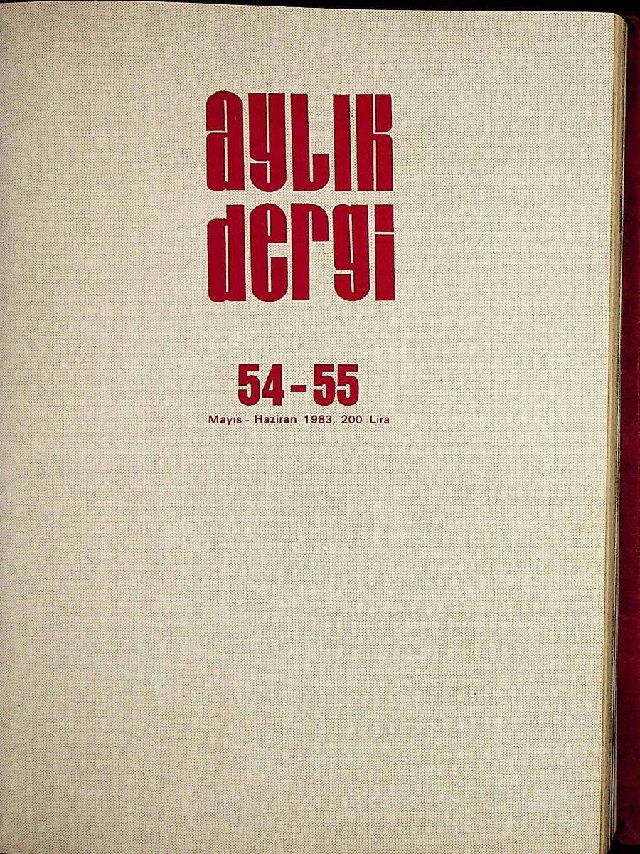 54-55. Sayı
