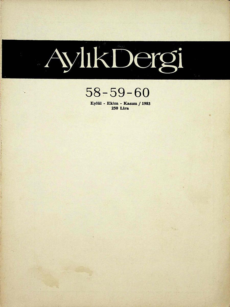 58-59-60. Sayı