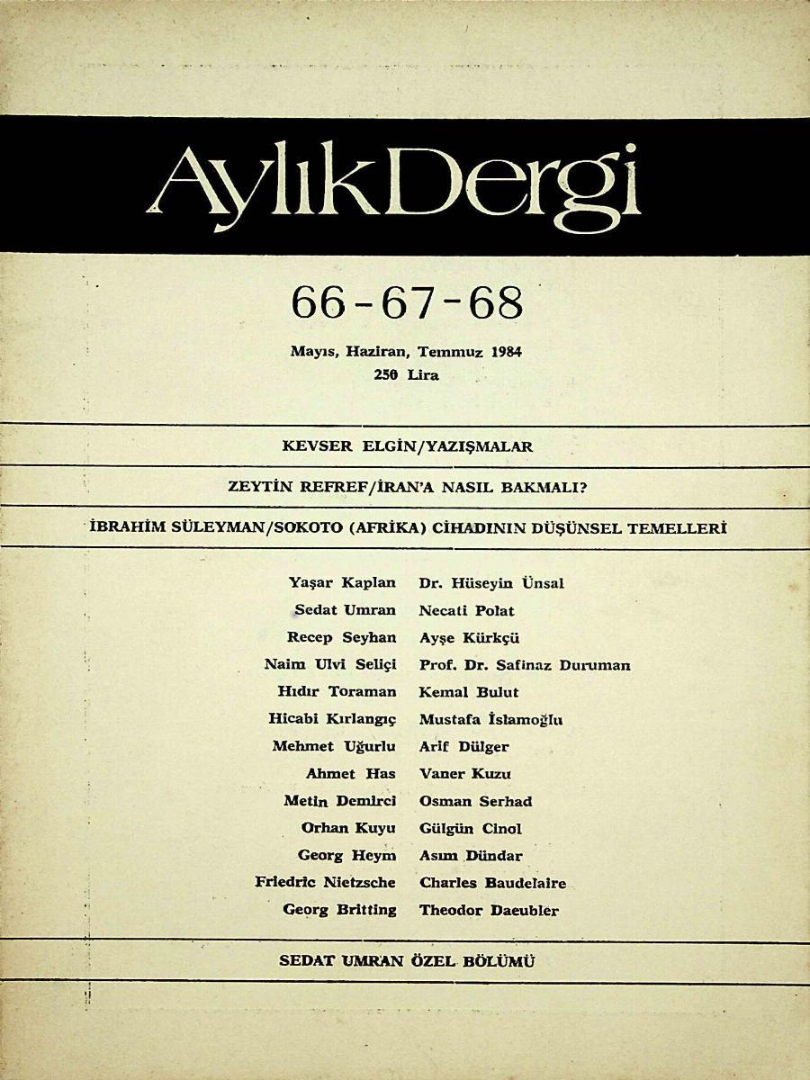 66-67-68. Sayı