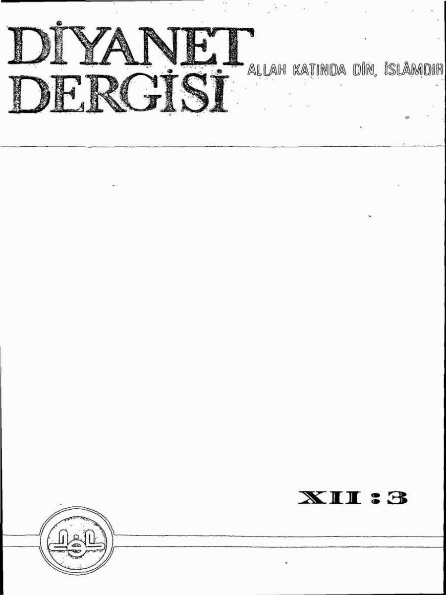 12. Cilt 3. Sayı