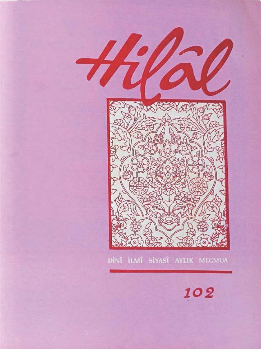9. Cilt 102. Sayı