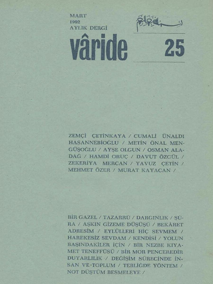 25. Sayı